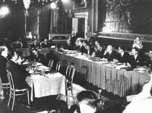 : Conseil de l'Europe, 4/11/1950. Noir et blanc