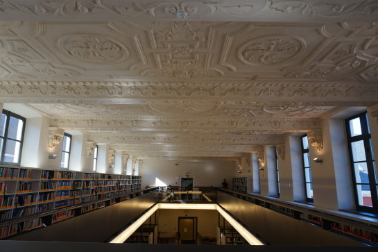 Ceiling of library Braunschool