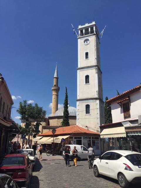 Islamic_Law_in_Greece_Yeni_Cami_Mosque_and_Clock_Tower_in_Komotini