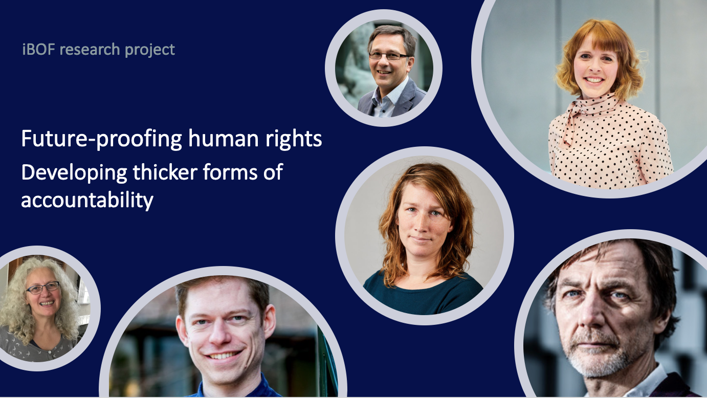 HRC PARTICIPATES IN NEW RESEARCH PROJECT ON ACCOUNTABILITY FOR HUMAN RIGHTS